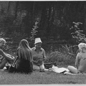 Women's pond, Hampstead Heath, london