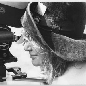 Midge McKenzie, director with her camera