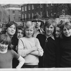 A boys' gang in Islington